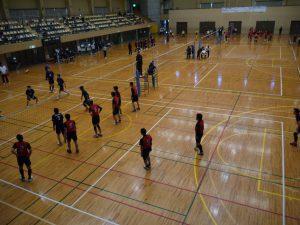 市スポーツ祭バレーボール大会①