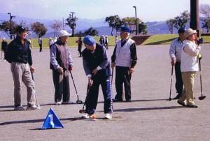 市スポーツ祭(グラウンドゴルフ)