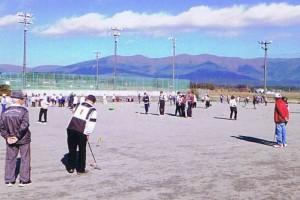 市スポーツ祭(ゲートボール)